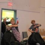 Haircuts at Homeless Connect