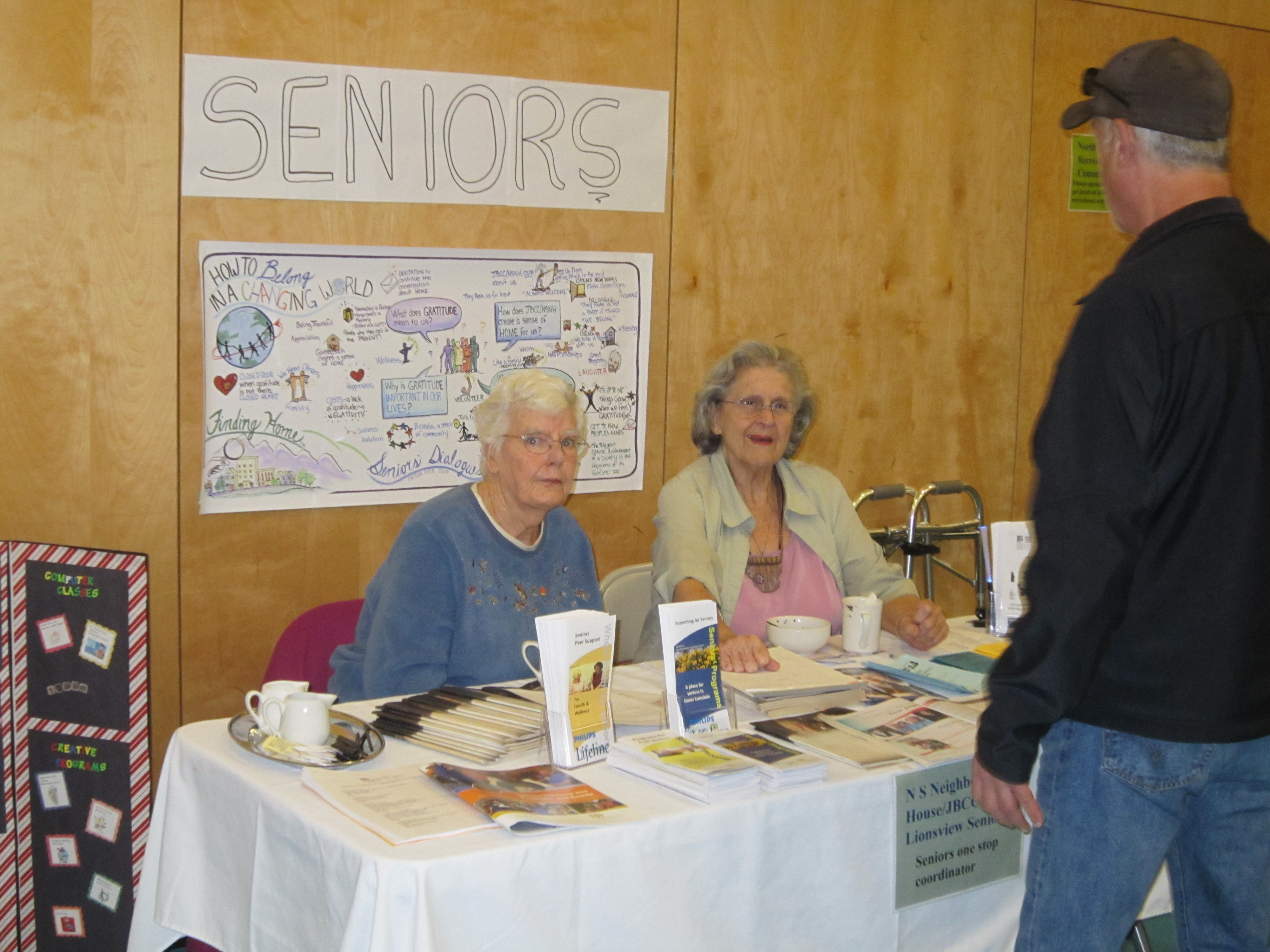 Resources for Seniors at Homeless Connect